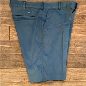 NIKE GOLF Dri- FIT Men's Gray Shorts sz 34